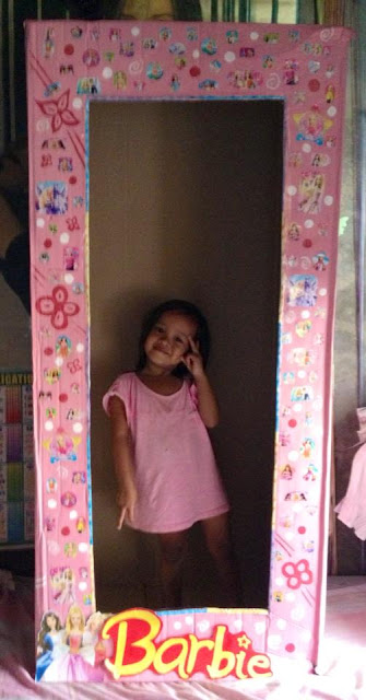 DIY Barbie Box for Photobooth