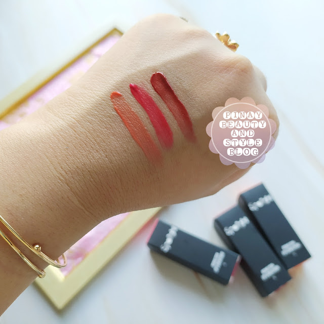 creamy lip and cheek paint tint swatches review