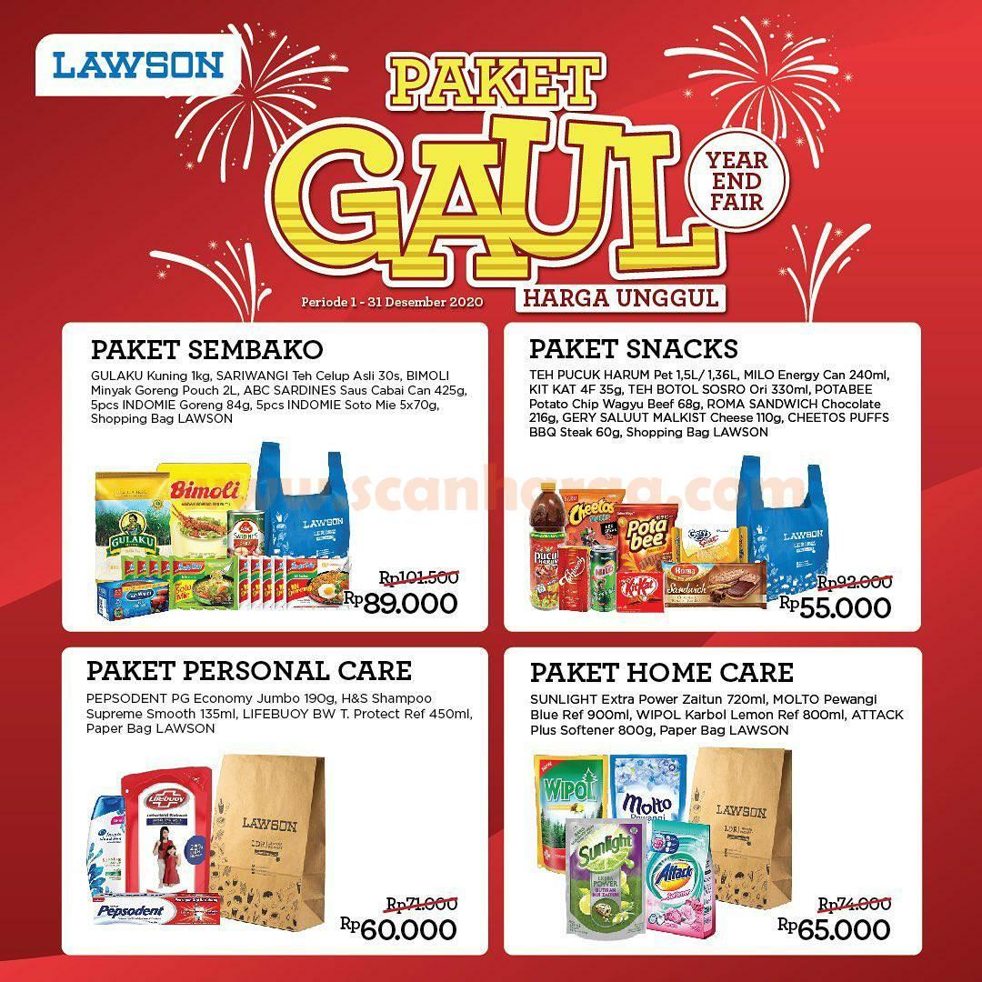 Lawson Promo Paket GAUL Periode 1 - 31 Desember 2020