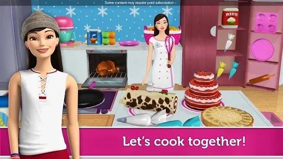 تقديم معلومات عن Barbie Dreamhouse Adventures اصنع تجربة باربي دريم هاوس الخاصة بك! يمكنك تصميم كل غرفة.