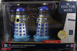 Doctor Who 'The Jungles of Mechanus' Dalek Set Box 01