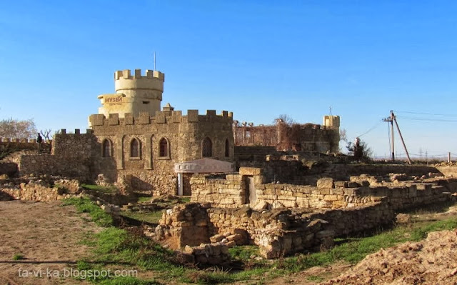 музей крепость Кара-Тобе