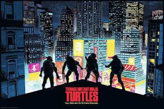 New York Comic Con 2019 Exclusive Teenage Mutant Ninja Turtles Screen Print by Raid71 x Bottleneck Gallery