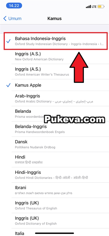 Trik Translate Bahasa Indonesia Inggris Di Iphone Ipad Tanpa Aplikasi Pukeva