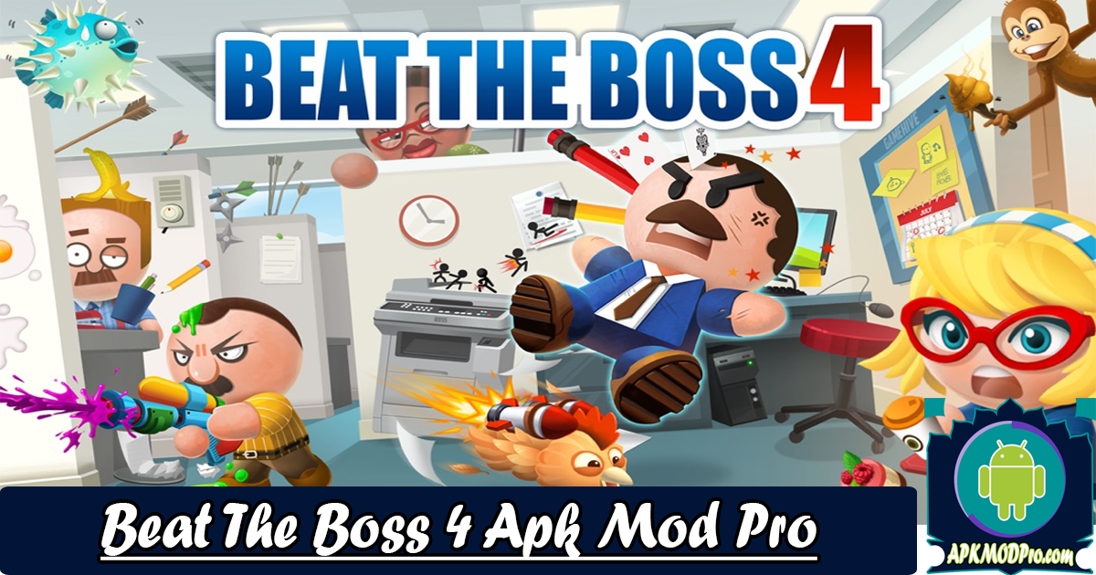 Download Beat the Boss 4 v1.1.13 (MOD Unlimited Coins) Mod Apk Pro Terbaru 2020
