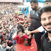 Dulquer meets fans in Kerala after the release of his first Hindi film Karwaan