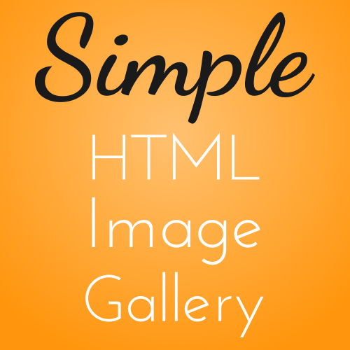 Code it Pretty: Make a Simple HTML Image Gallery for Your