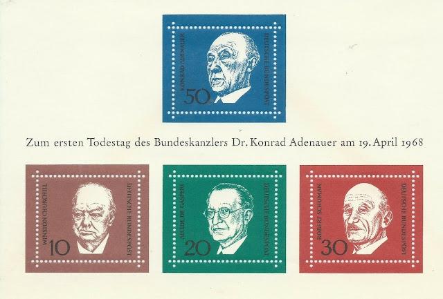 Konrad Adenauer Germany Block