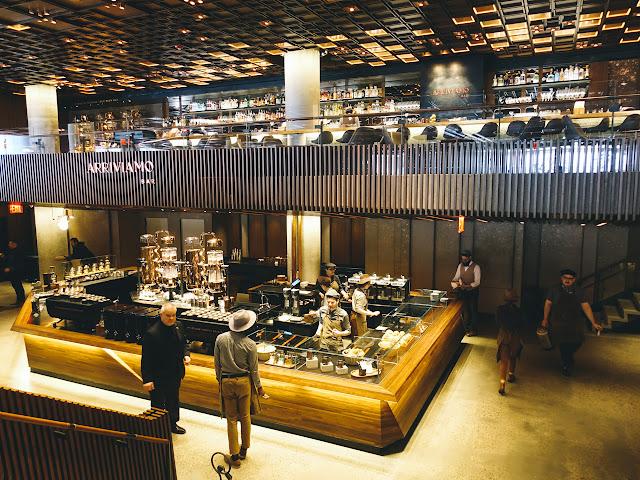 スターバックス・リザーブ・ロースタリー・ニューヨーク店(Starbucks Reserve Roastery NYC)