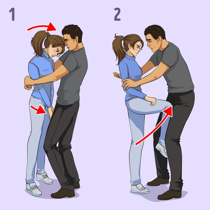 Women self Defense Techniques 2021