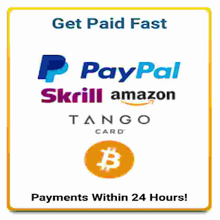 Payment method that are available on RewardingWays