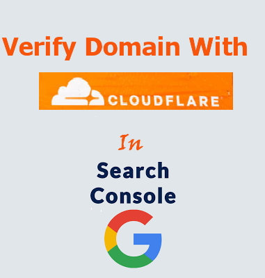 How to Verify Your Domain With Cloudflare In Google Search Console