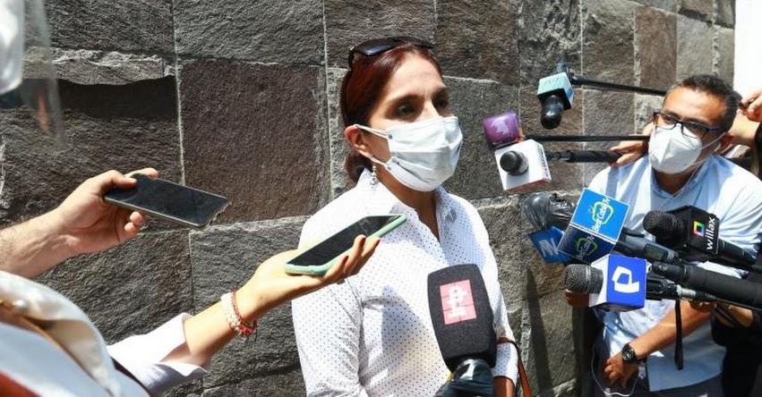 Fuerza Popular respetará resultado de las elecciones, según Patricia Juárez, candidata a la segunda vicepresidencia
