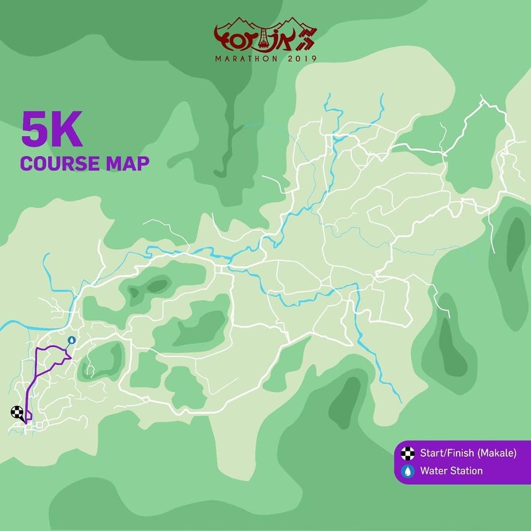 5K 👟 Toraja Marathon • 2019/2020