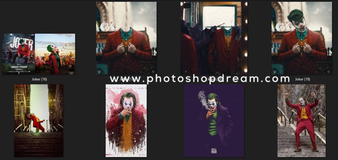 Joker Movie Concept - Background And PNG Free Download - Joker Movie Editing Stock