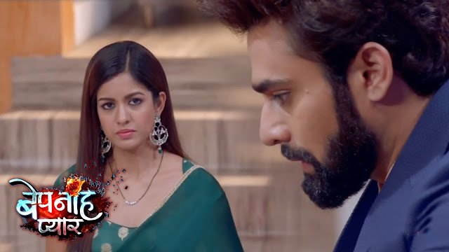 Future Story : Pragati cleverly forces Raghbir to confess Bani's murder to media in Bepanah Pyaar