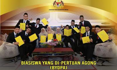 Permohonan Biasiswa Yang Di-Pertuan Agong (BYDPA) 2019/2020