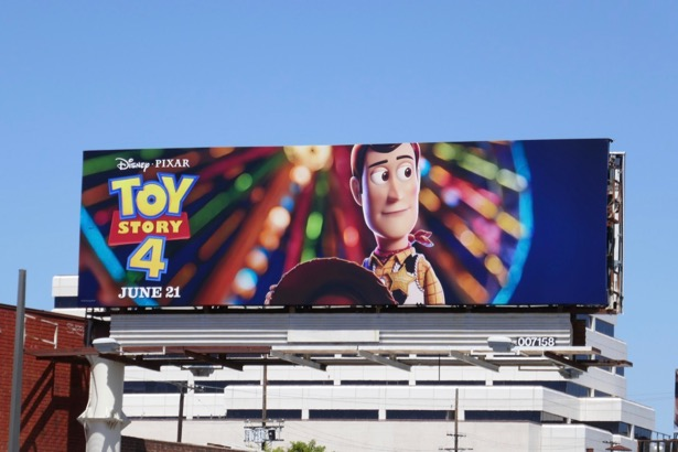 Toy Story 4 movie billboard