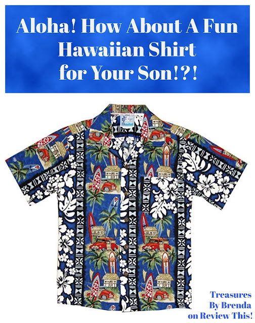 Hawaiian Shirts For Boys