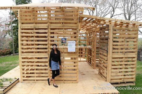 โครงสร้างบ้านไม้พาเลท