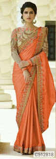 Silk Embroidered Sarees