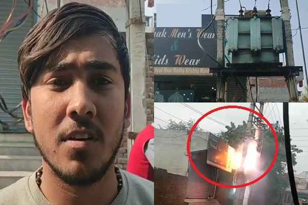 ballabhgarh-azad-saini-shop-transformer-burnt-no-action-by-sarkar