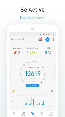 PACER PEDOMETER (MOD, PREMIUM) APK FOR ANDROID