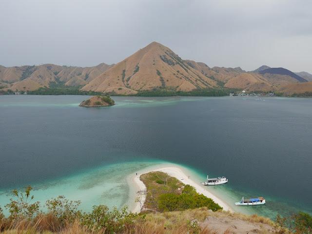 View dari atas Pulau Kelor