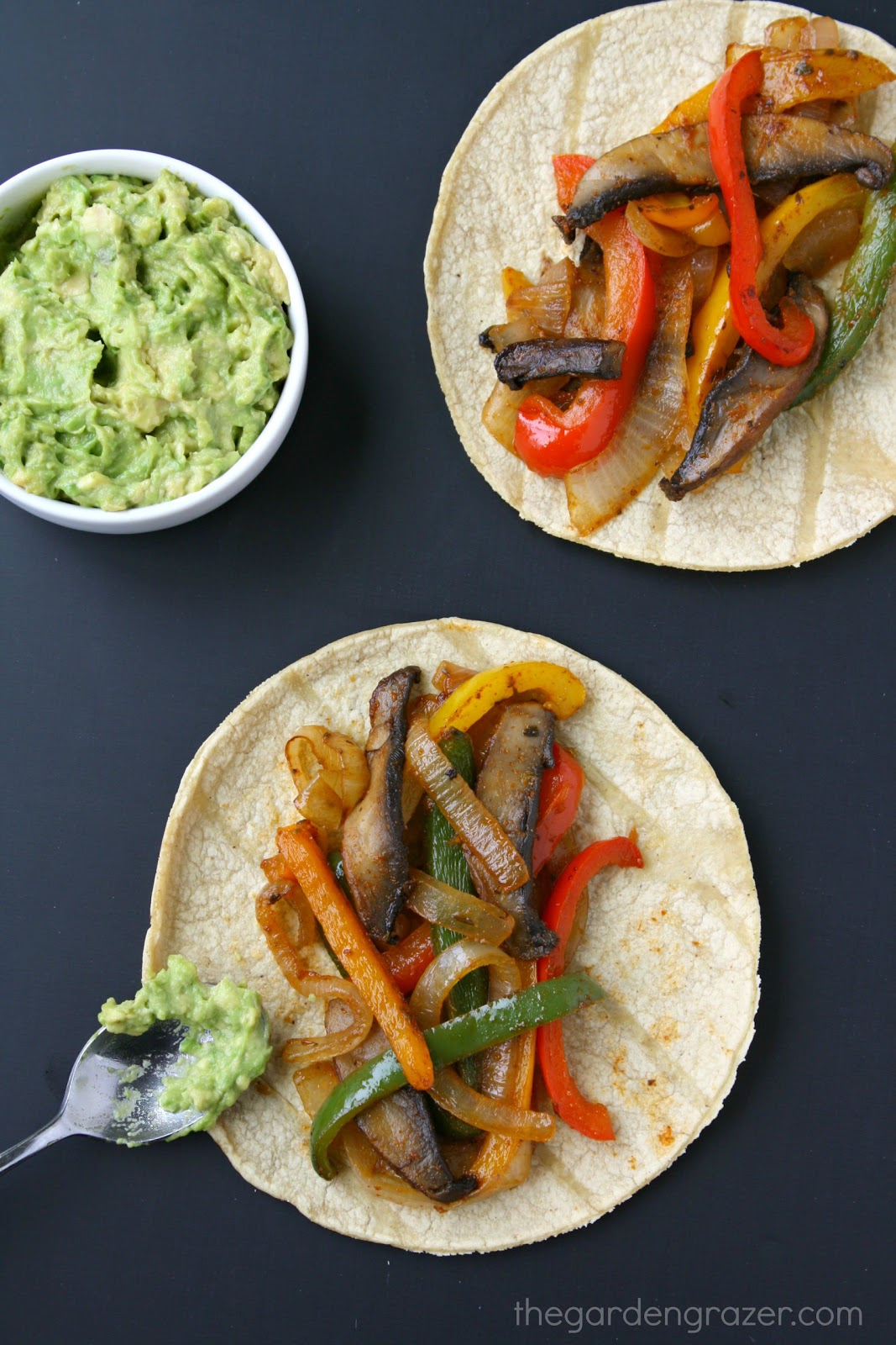 PORTOBELLO FAJITAS #cauliflower #mushroom #vegetarian #breakfast #easy