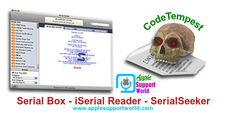Serial Box [06.2016] + iSerial Reader [v2.0.17] + SerialSeeker [v1.3.12 (B8)] [MAC] [CodeTempest]