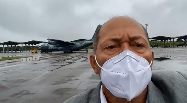 """Coronel Chrisóstomo acompanha chegada da vacina contra covid-19 em Rondônia e comemora: """"esperança para o nosso povo"""""""