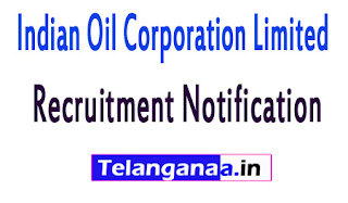 Indian Oil Corporation Limited IOCL Recruitment Notification 2017