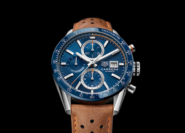 New TAG Heuer Carrera Calibre 16 Chronograph CBM2112.FC6455
