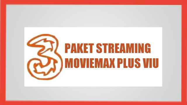 cara menggunakan kuota streaming moviemax 3 plus viu