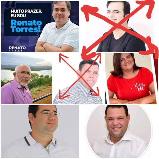 DESISTE SEGUNDO PRÉ-CANDIDATO A PREFEITO DE  DELMIRO GOUVEIA; QUEM SERÁ O PRÓXIMO?