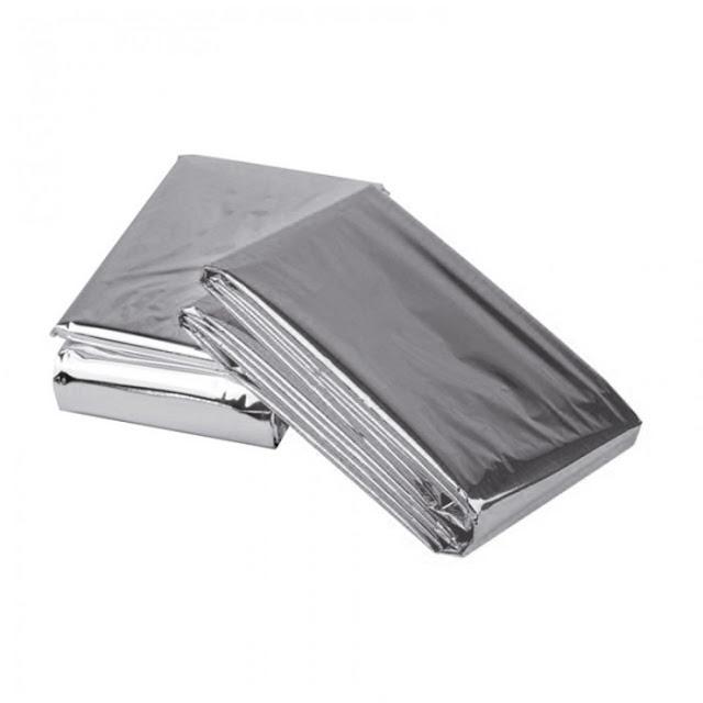 folie supravietuire argintie