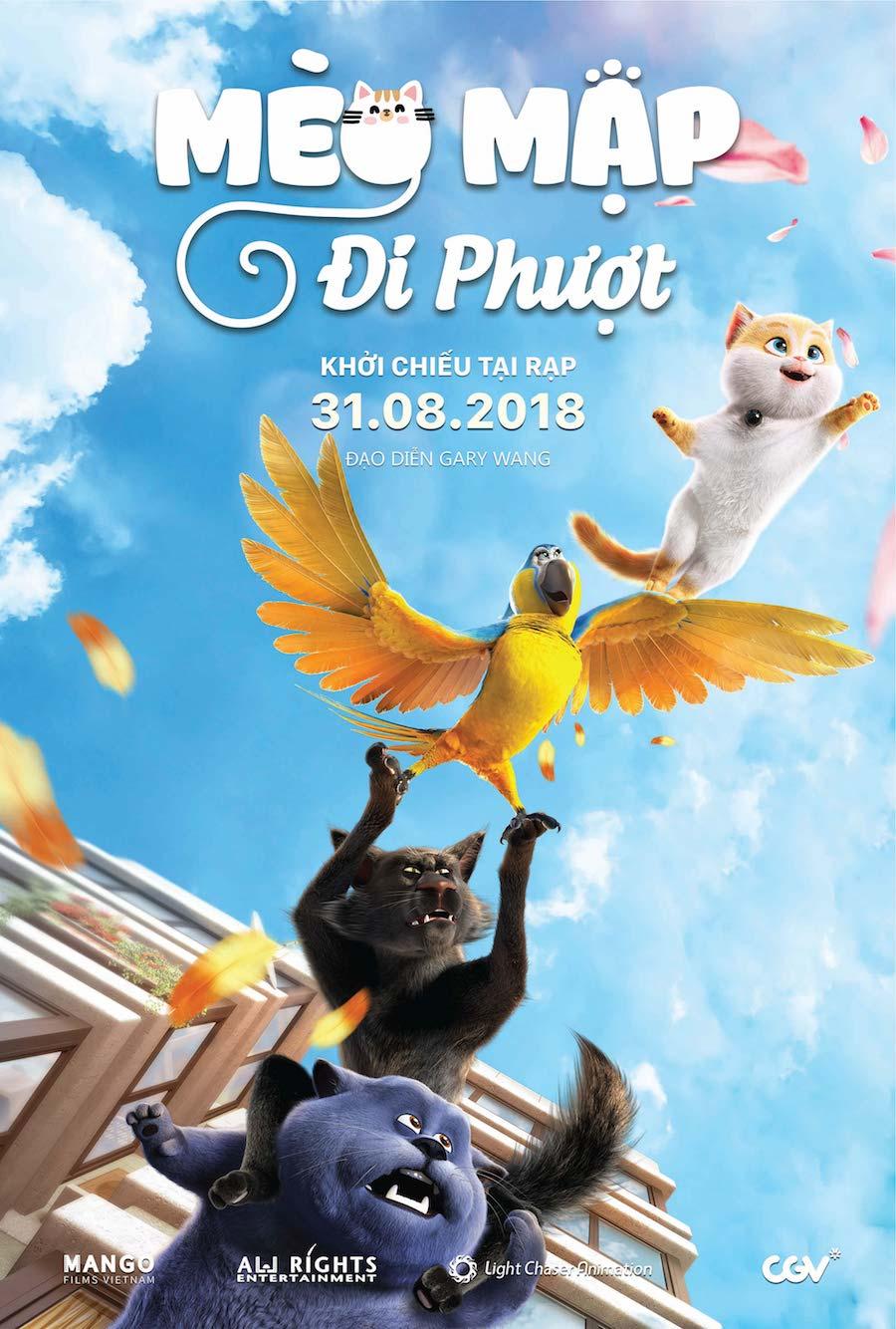 Xem Phim Mèo Mập Đi Phượt - Cats and Peachtopia
