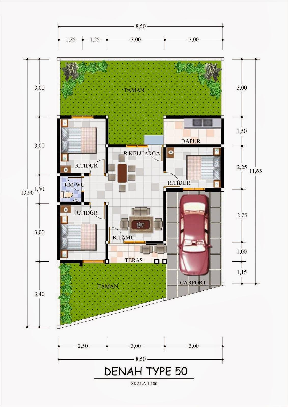70 Desain Rumah Minimalis Ukuran 6x18 Desain Rumah