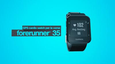 Garmin Forerunner 35: frequenza cardiaca al polso e funzioni smart