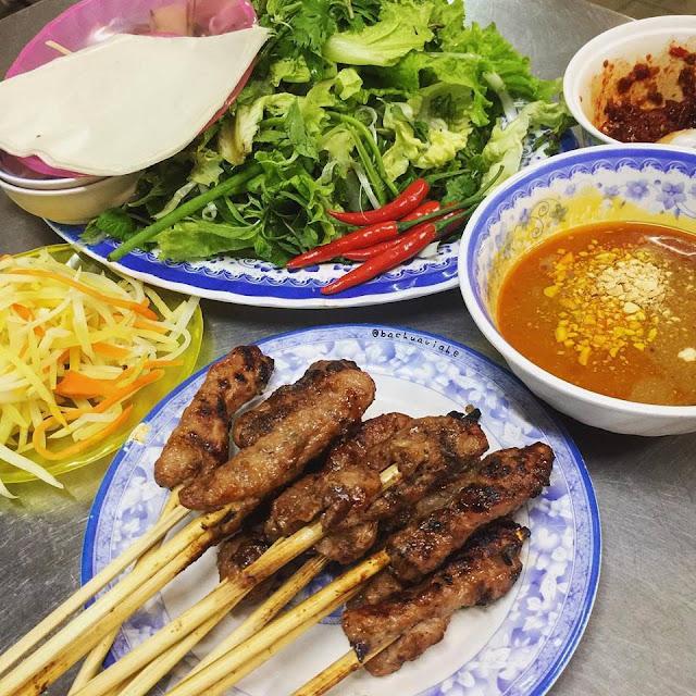 Nem lụi - Bà Trai - Số 194 Đống Đa, Hải Châu, Đà Nẵng