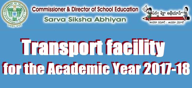 TS State, TS Proceedings, TS Notifications, Transport Facility, TSSA, School Education