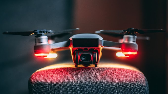 Papel de Parede Tecnologia Drone