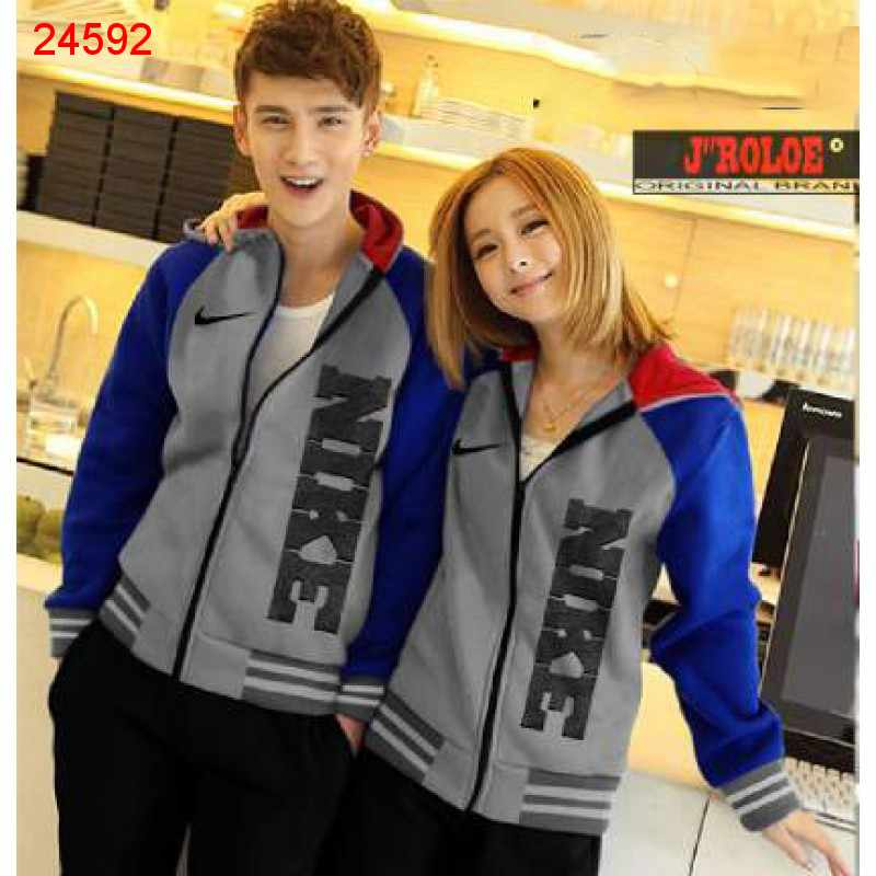 Jual Jacket Couple Jacket Nike Rip - 24592