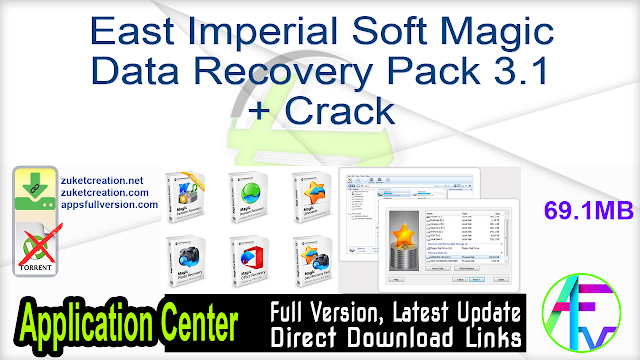East Imperial Soft Magic Data Recovery Pack 3.1 + Crack