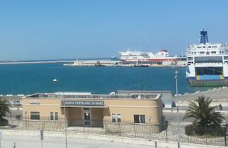 Porto di Bari, statistiche del primo semestre del 2016