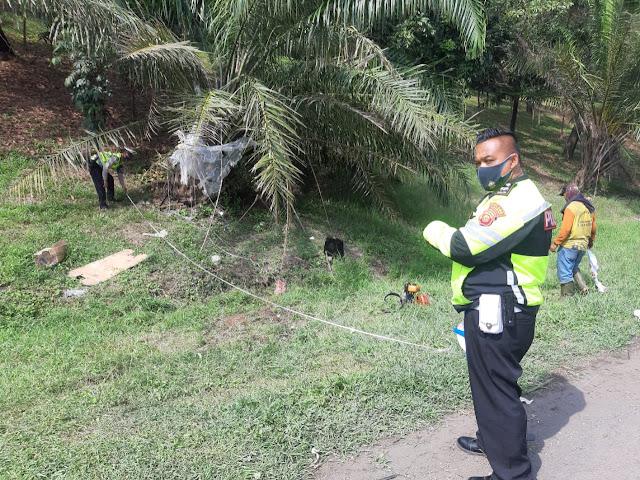 Terjadi Laka Lantas di Tol Cikampek KM 70, 4 Orang Tewas