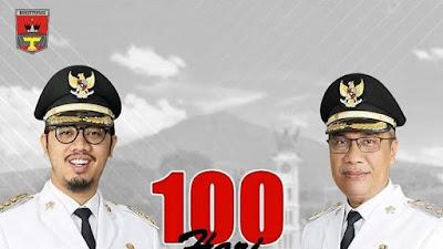 Telah 100 Hari Pimpin Bukittinggi, Erman Safar- Marfendi Laporkan Capaian Kinerjanya