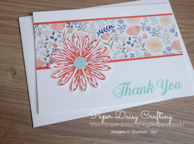Delightful daisy from Stampin' Up!
