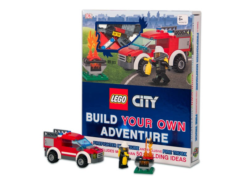REVIEW: LEGO City Build Your Own Adventure book | The Test Pit