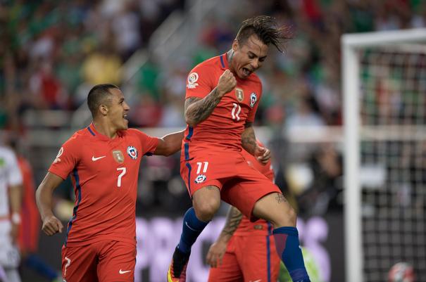 Sanchez dkk, Chile, Copa America